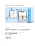 ABS ECU ( Antilock Bracking System Electronic Control Unit)