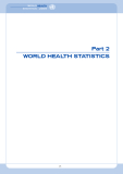 WORLD HEALTH STATISTICS 2006  - PART 3