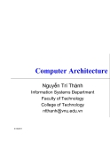 Computer Architecture - Nguyễn Trí Thành