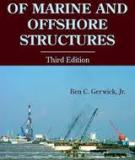 Contruction of marine and offshore structures - Third editon