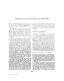 ENCYCLOPEDIA OF ENVIRONMENTAL SCIENCE AND ENGINEERING - PSYCHOLOGICAL ASPECTS OF MAN'S ENVIRONMENT