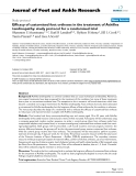 """Báo cáo y học: """"Efficacy of customised foot orthoses in the treatment of Achilles tendinopathy: study protocol for a randomised trial"""""""