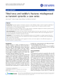 "Báo cáo khoa học: ""Tibial torus and toddler's fractures misdiagnosed as transient synovitis: a case series"""