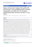 "báo cáo khoa học: ""Failure of functional imaging with gallium-68DOTA-D-Phe1-Tyr3-octreotide positron emission tomography to localize the site of ectopic adrenocorticotropic hormone secretion: a case report"""