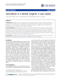 "Báo cáo y học: ""Sarcoidosis in a dental surgeon: a case report"""