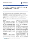 """báo cáo khoa học: """" Tamsulosin-induced severe hypotension during general anesthesia: a case report"""""""