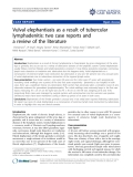 """báo cáo khoa học: """"Vulval elephantiasis as a result of tubercular lymphadenitis: two case reports and a review of the literature"""""""