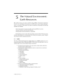 ENVIRONMENTAL IMPACT STATEMENTS - CHAPTER 5