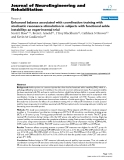 """Báo cáo khoa hoc:""""  Enhanced balance associated with coordination training with stochastic resonance stimulation in subjects with functional ankle instability: an experimental trial"""""""