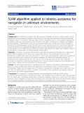 "Báo cáo khoa hoc:""   SLAM algorithm applied to robotics assistance for navigation in unknown environments"""