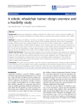 "Báo cáo khoa hoc:""  A robotic wheelchair trainer: design overview and a feasibility study"""
