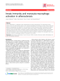 "Báo cáo y học: "" Innate immunity and monocyte-macrophage activation in atherosclerosis"""