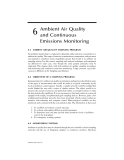 AIR POLLUTION CONTROL TECHNOLOGY HANDBOOK - CHAPTER 6