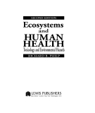 Ecosystems and Human Health - Chapter 1
