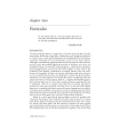 Ecosystems and Human Health - Chapter 9