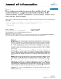 """Báo cáo y học: """"Does carbon monoxide treatment alter cytokine levels after endotoxin infusion in pigs? A randomized controlled study"""""""