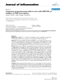 """Báo cáo y học: """"Treatment of experimental colitis in mice with LMP-420, an inhibitor of TNF transcription"""""""