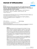 """Báo cáo y học: """"Gender-based reciprocal expression of transforming growth factor-β1 and the inducible nitric oxide synthase in a rat model of cyclophosphamide-induced cystitis"""""""