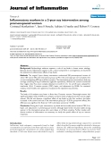 """Báo cáo y học: """"Inflammatory markers in a 2-year soy intervention among premenopausal women"""""""