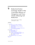 Geochemical and Hydrological Reactivity of Heavy Metals in Soils - Chapter 9