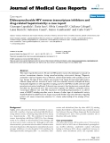 """Báo cáo y học: """" Dideoxynucleoside HIV reverse transcriptase inhibitors and drug-related hepatotoxicity: a case report"""""""
