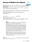 """Báo cáo y học: """"Hepatotoxicity induced by horse ATG and reversed by rabbit ATG: a case report"""""""