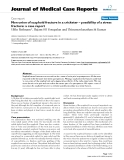 "Báo cáo y học: ""Non union of scaphoid fracture in a cricketer – possibility of a stress fracture: a case report"""