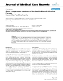 """Báo cáo y học: """" Acute compartment syndrome of the hand in Henoch-Schonlein Purpura"""""""