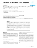 "Báo cáo khoa hoc:"" Anaphylactic reaction associated with Ranitidine in a patient with acute pancreatitis: a case report"""