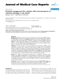 "Báo cáo khoa hoc:"" Occlusal management for a patient with aural symptoms of unknown etiology: a case report"""
