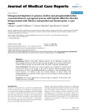 "Báo cáo khoa hoc:"" Unexpected depletion in plasma choline and phosphatidylcholine concentrations in a pregnant woman with bipolar affective disorder being treated with lithuim, haloperidol and benztropine: a case report"""