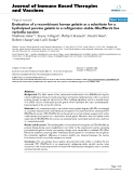 """Báo cáo y học: """"valuation of a recombinant human gelatin as a substitute for a hydrolyzed porcine gelatin in a refrigerator-stable Oka/Merck live varicella vaccine."""""""