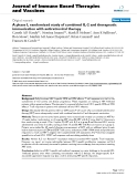 "Báo cáo y học: ""A phase I, randomized study of combined IL-2 and therapeutic immunisation with antiretroviral therapy"""