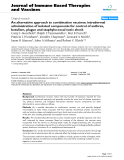 """Báo cáo y học: """"n alternative approach to combination vaccines: intradermal administration of isolated components for control of anthrax, botulism, plague and staphylococcal toxic shock"""""""