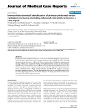 """Báo cáo y học: """" Immunohistochemical identification of primary peritoneal serous cystadenocarcinoma mimicking advanced colorectal carcinoma: a case report."""""""