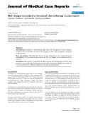 """Báo cáo y học: """" Nail changes secondary to docetaxel chemotherapy : a case report"""""""