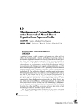 INTERFACIAL APPLICATIONS IN ENVIRONMENTAL ENGINEERING - CHAPTER 10