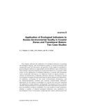 Handbook of Ecological Indicators for Assessment of Ecosystem Health - Chapter 3
