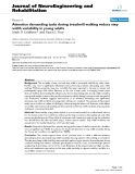 """báo cáo khoa học: """"Attention demanding tasks during treadmill walking reduce step width variability in young adults"""""""