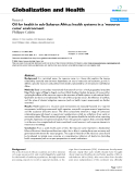 "báo cáo khoa học: "" Oil for health in sub-Saharan Africa: health systems in a 'resource curse' environment"""