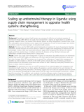 """báo cáo khoa học: """"  Scaling up antiretroviral therapy in Uganda: using supply chain management to appraise health systems strengthening"""""""