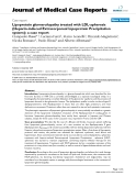 "Báo cáo y học: ""Lipoprotein glomerulopathy treated with LDL-apheresis (Heparin-induced Extracorporeal Lipoprotein Precipitation system): a case report"""