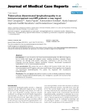 "Báo cáo y học: ""Tuberculous disseminated lymphadenopathy in an immunocompetent non-HIV patient: a case report"""