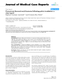 """Báo cáo y học: """"Concurrent femoral neck fractures following pelvic irradiation: a case report"""""""
