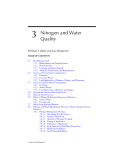 AGRICULTURAL NONPOINT SOURCE POLLUTION: Watershed Management and Hydrology - Chapter 3