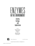 Enzymes in the Environment: Activity, Ecology and Applications - Chapter 1