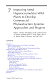 Phytoremediation of Contaminated Soil and Water - Chapter 7