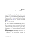 TOXICOLOGICAL CHEMISTRY AND BIOCHEMISTRY - CHAPTER 7