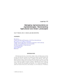 BIODIVERSITY IN AGROECOSYSTEMS - CHAPTER 11