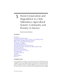 Interactions Between Agroecosystems and Rural Communities - Chapter 5